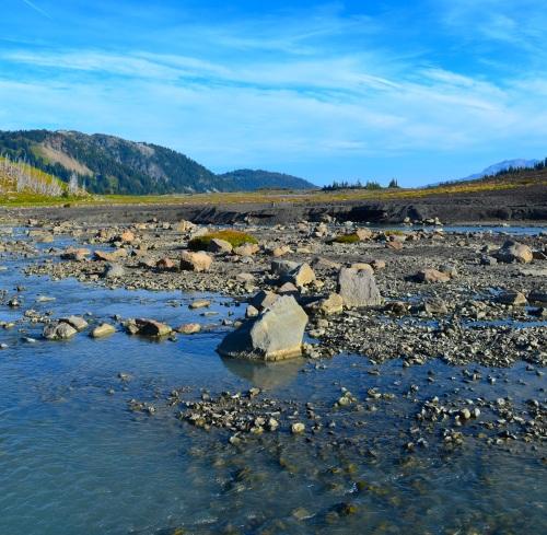Mellow river crossing