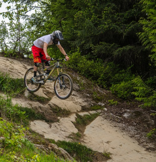 Lower Whistler Downhill