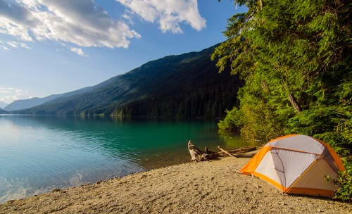 A pretty nice campsite
